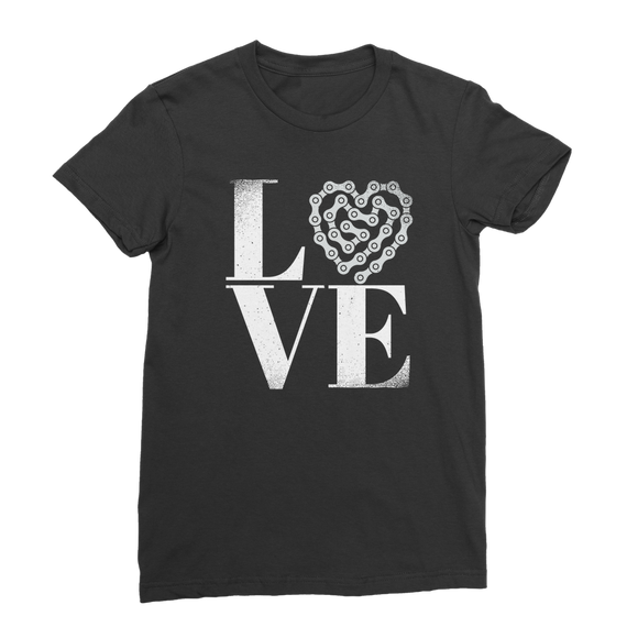 Love Bike Premium Jersey Women's T-Shirt