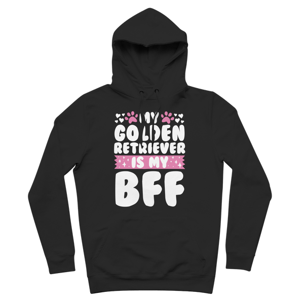 My Golden Retriever is My BFF Premium Adult Hoodie