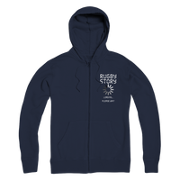 Rugby Story Loading... Please Wait Premium Adult Zip Hoodie