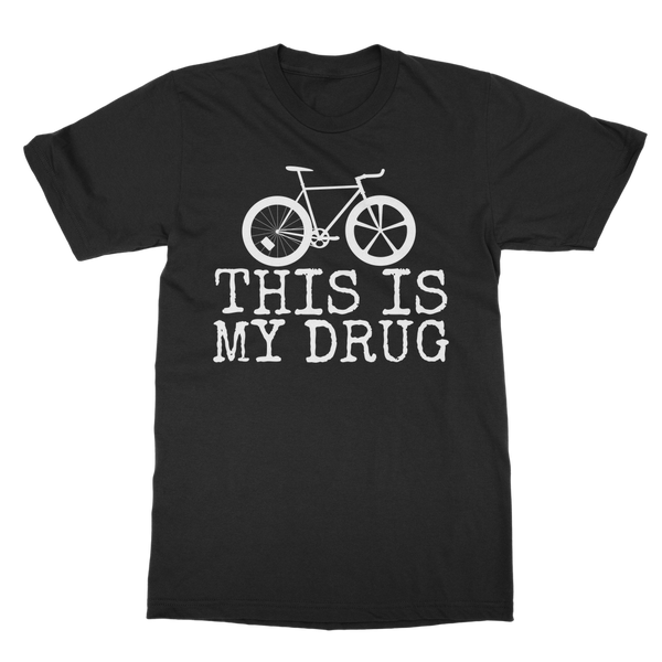 Cycling is my Drug (DB00053) Classic Adult T-Shirt