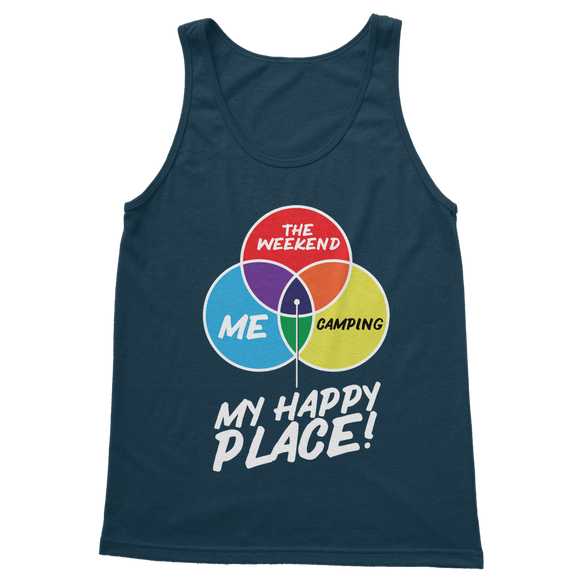 Camping is My Happy Place Classic Women's Tank Top