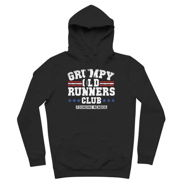 Grumpy Old Runners Club Founding Member Premium Adult Hoodie