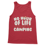 No Hour of Life is Wasted With A Camping Classic Women's Tank Top