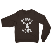 My Happy Hour Weightlifting Classic Adult Sweatshirt