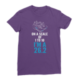 On A Scale Of 1 To 10 Marathon Runner Classic Women's T-Shirt