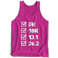 Marathon Checklist Girlie Cool Vest