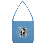 Bamboo Pete Silver Floral Tote Bag
