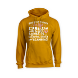 All The Best Things in Life Start With The Letter S - Camping Hoodie - Challenge The Norm