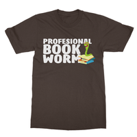 Professional Book Worm Softstyle Ringspun T-Shirt - Challenge The Norm