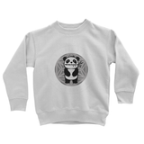 Bamboo Pete Silver Floral Kids' Sweatshirt
