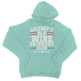 Grumpy Old Wine Drinkers Club Founding Member College Hoodie