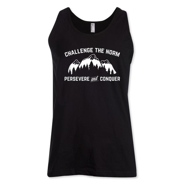Challenge The Norm White Tank Top