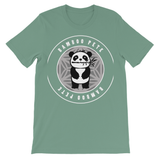 Bamboo Pete Silver Floral Kids' T-Shirt