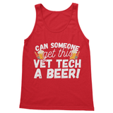Can Someone Get This Vet Tech a Beer Softstyle Tank Top