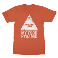 My Food Pyramid... Avocado Toast Softstyle Ringspun T-Shirt - Challenge The Norm