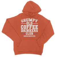 Grumpy Old Coffee Drinkers Club Founding Member College Hoodie
