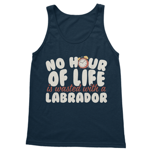 No Hour of Life is Wasted With A Labrador Softstyle Tank Top - Challenge The Norm