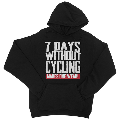 7 Days Without Cycling Makes One Weak Hoodie