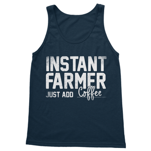 Instant Farmer Just Add Coffee Softstyle Tank Top