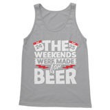 The Weekend Were Made For Beer Softstyle Tank Top - Challenge The Norm