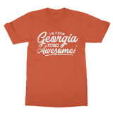 I'M From Georgia And I'm Awesome! Softstyle Ringspun T-Shirt