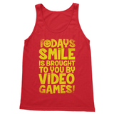 Todays Smile Is Brought To You By Video Games Softstyle Tank Top - Challenge The Norm