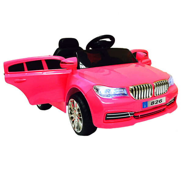 BMW Ride On Car For Kids With Remote Control | Pink