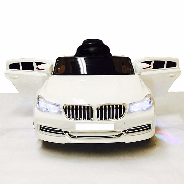 BMW Ride On Car For Toddler With Remote Control | White
