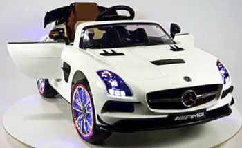 mercedes sls ride on car