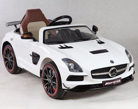 Power Wheels Mercedes SLS AMG Black Series 12V | White