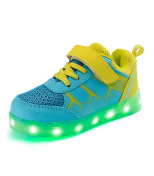 Led Sneakers Light Up Shoes Yellow