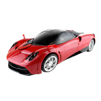 Red Robot Remote Control Pagani Maroon Car Transforming Autobot - On My Wheels
