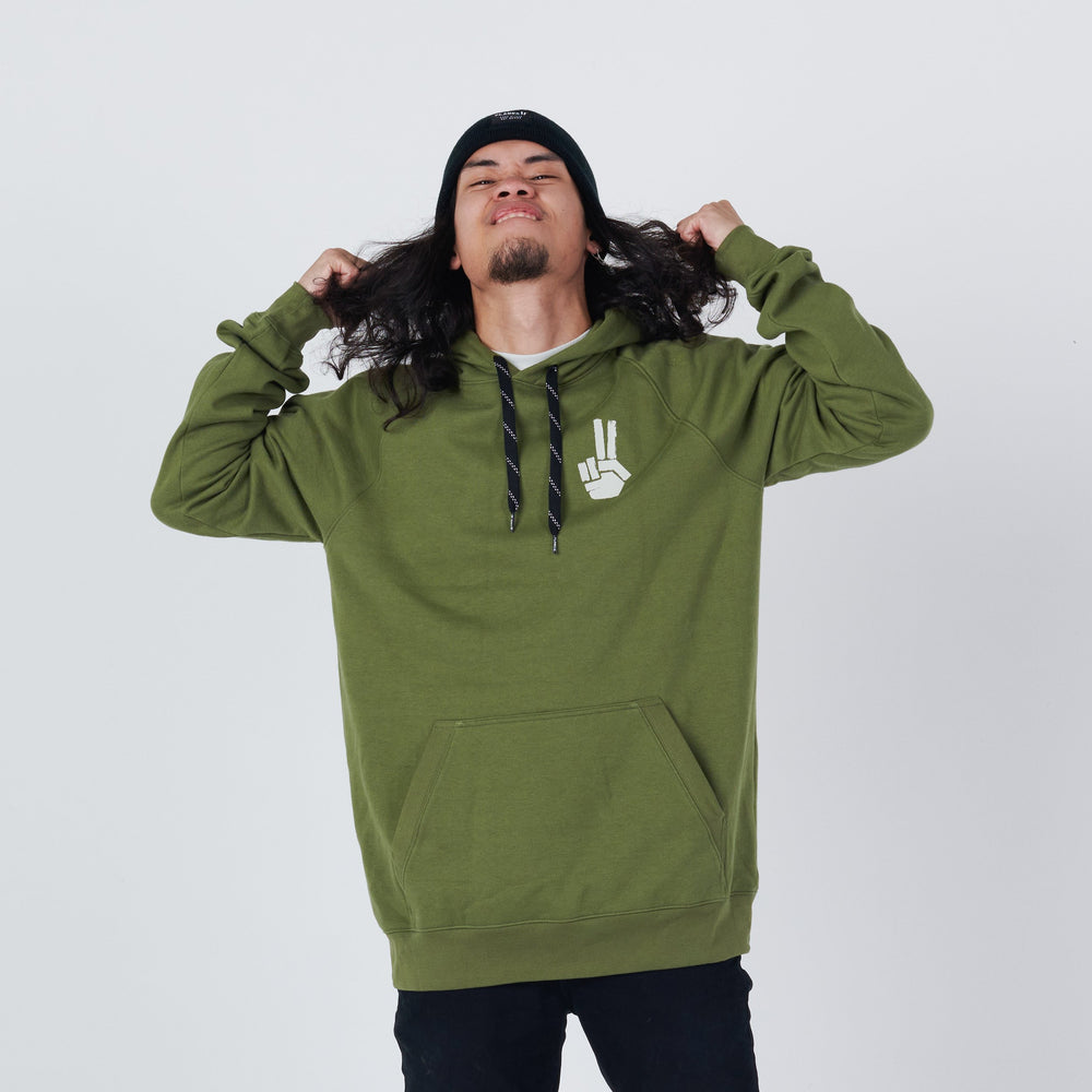 Men's Planks x Woodsy Hand of Shred Hoodie