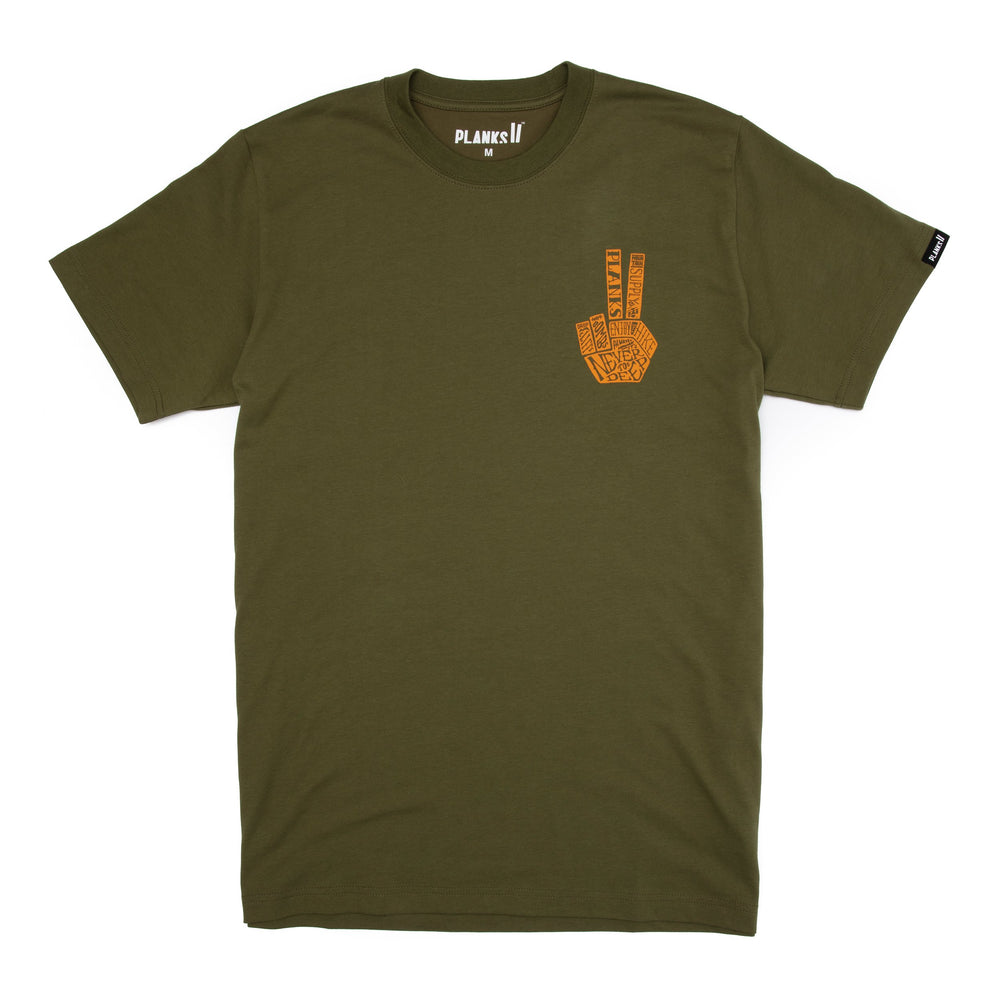 Men's Hand of Shred T-shirt - James 'Woodsy' Woods Signature Series