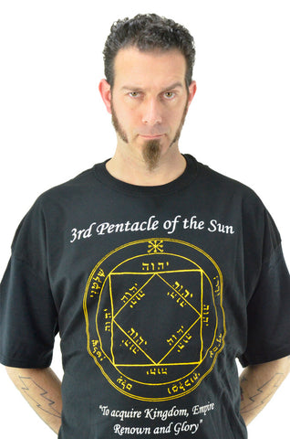 Third Pentacle of the Sun T-Shirt