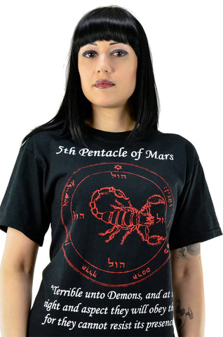 Fifth Pentacle of Mars T-Shirt