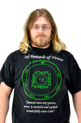 Fifth Pentacle of Venus T-Shirt