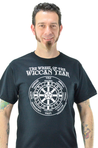 Wheel of the Wiccan Year T-Shirt