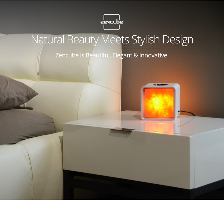 'Zencube'  - The World's First Smart Himalayan Salt Lamp