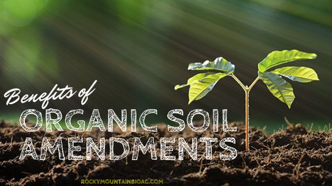 Benefits of Organic Soil Amendments