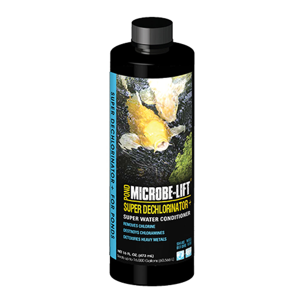 16 Ounce Microbe Lift Dechlorinator Plus Dechlorinator Plus 16,000 Gallons Rocky Mountain BioAg