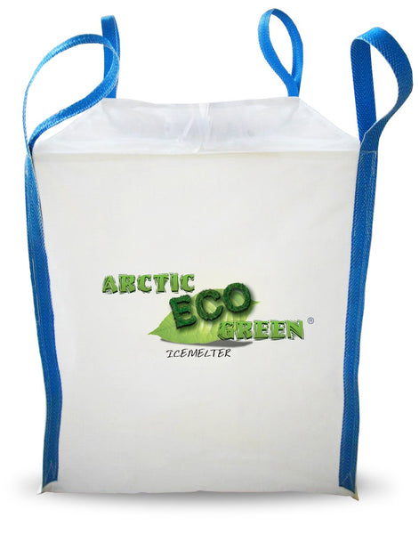 arctic eco green child and pet safe eco friendly all natural ice melt 1 metric ton 2204 pound tote sack - rocky mountain bioag