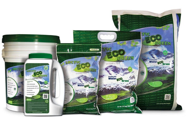 arctic eco green child and pet safe eco friendly all natural ice melt family - rocky mountain bioag