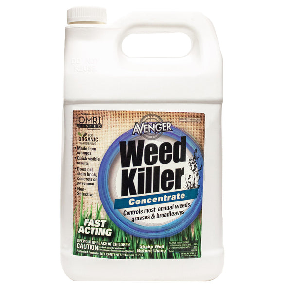 Avenger Organic Weed Control Killer Concentrate 2.5 Gallon - 9.46 Liters - Rocky Mountain Bio-Ag