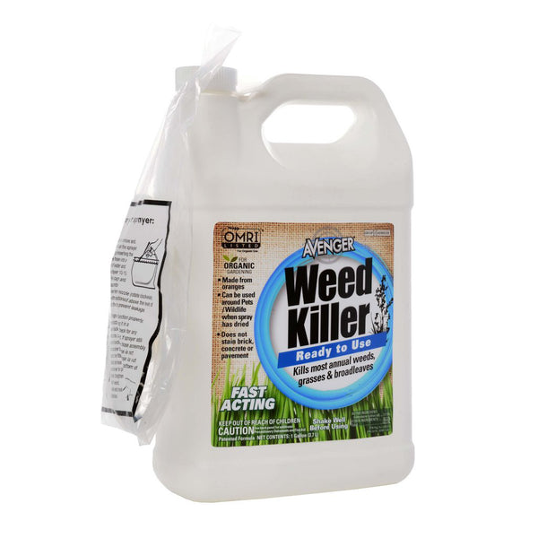 Avenger Weed Control Killer Ready-To-Use (RTU) 1 Gallon - 128 Ounce - Rocky Mountain Bio-Ag