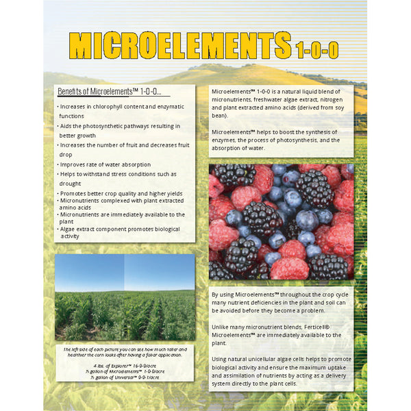 ferticell usa microelements 1-0-0 micronutrients organic fertilizer cut sheet rocky mountain bioag page 1