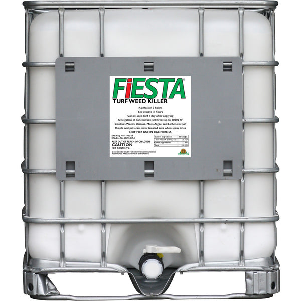 fiesta selective post emergent turf weed killer 200-gallon tote rocky mountain bioag