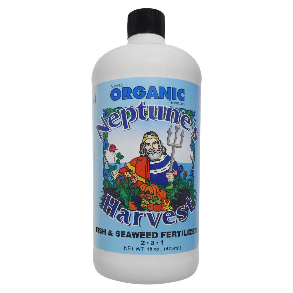 1 Pint, 16 Ounce Neptune's Harvest Fish and Seaweed Fertilizer 2-3-1 Fish Hydrolysate and Seaweed - Rocky Mountain Bio-Ag