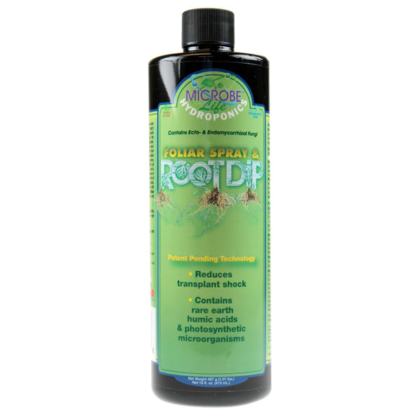 1 Pint, 16 Ounce Microbe Life Hydroponics Foliar Spray & Root Dip - Rocky Mountain Bio-Ag