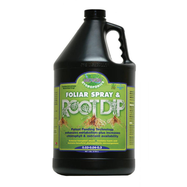1 Gallon, 128 Ounce Microbe Life Hydroponics Foliar Spray & Root Dip - Rocky Mountain Bio-Ag